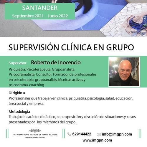 Supervisión clinica en grupo